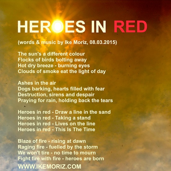 Light Stand Lyrics: 'HEROES IN RED'