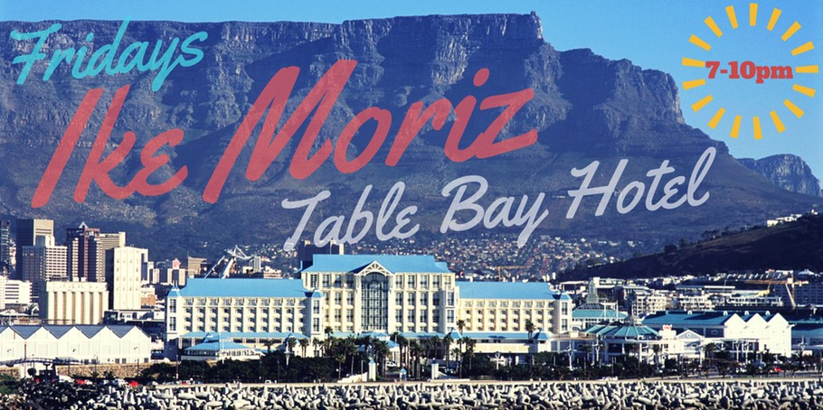 Ike Moriz live at Table Bay Hotel Victoria and Alfred Waterfront Cape Town South Africa Camissa restaurant music jazz swing singer crooner