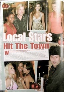 Reviews 2002 2007 ikemoriz ike moriz ike moriz visited the fashion tv cafe one year anniversary party in sandton on 21206 with his friend elana afrika dj from sa radio station kfm altavistaventures