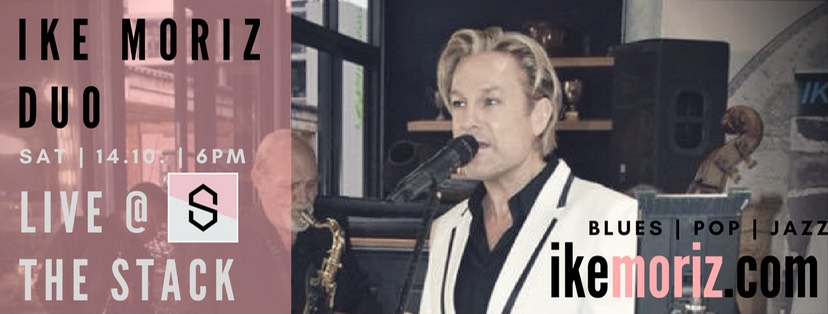 ike Moriz swing jazz duo pop latin the stack cape town gardens weltevreden street leinster hall
