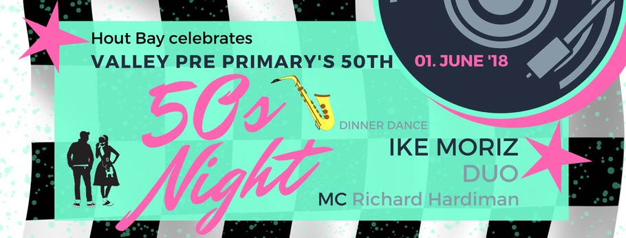 Ike Moriz Dinner Dance Hout Bay 50s themed night live music duo swing jazz pop rockn roll Richard Hardiman Riverside Boutique Hotel